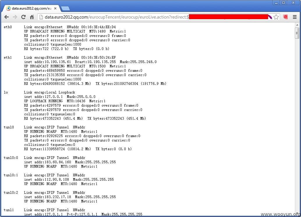 腾讯某分站远程命令执行漏洞- SecPulse COM | 安全脉搏