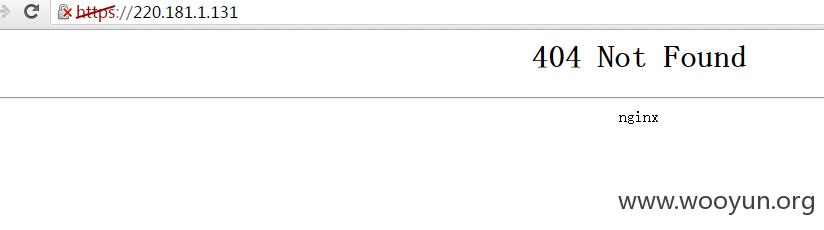 乐视某服务器漏洞