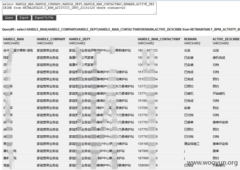 中国移动某运维系统GetShell影响千万数据/200W家庭宽带用户
