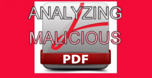 用PDF-Parser工具分析恶意PDF文件