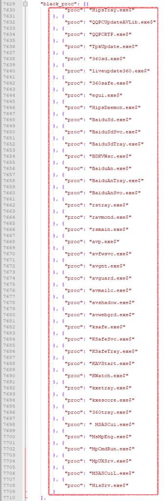 exe,360tray.exe,liveupdate360.exe ,qqpcrtp.exe等.