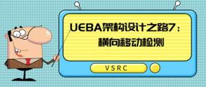 UEBA架构设计之路7: 横向移动检测